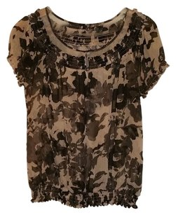 Express Top Muted Floral