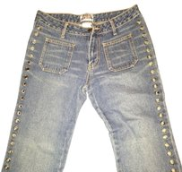 EXTREME LIMIT Boot Cut Jeans-Distressed