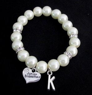 Fashion Jewelry For Everyone Junior Bridesmaid Bracelet, Pearl Bracelet Junior Bridesmaid Gift