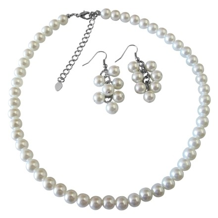Looking For White Pearl Jewelry Set Find At Fashion Jewelry For Everyone