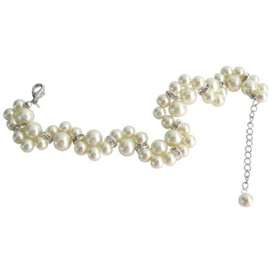 Fashion Jewelry For Everyone Excellent Quality Bridal Bracelet Cream Pearls Twisted Bracelet