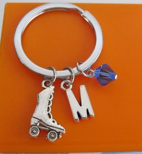 Fashion Jewelry For Everyone Roller Skate Keychain Custom Keychain Custom Key Ring Roller Skate