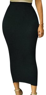 Other Tube Pencil Bodycon High Waisted Stretch Skirt BLACK