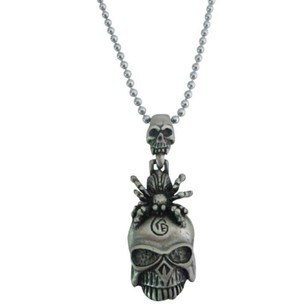 Halloween Gift Free Shipping Scorpion On Skull Head Pendant