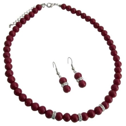 Red Young Girls Unimaginable Its Breathtaking Jewelry Set