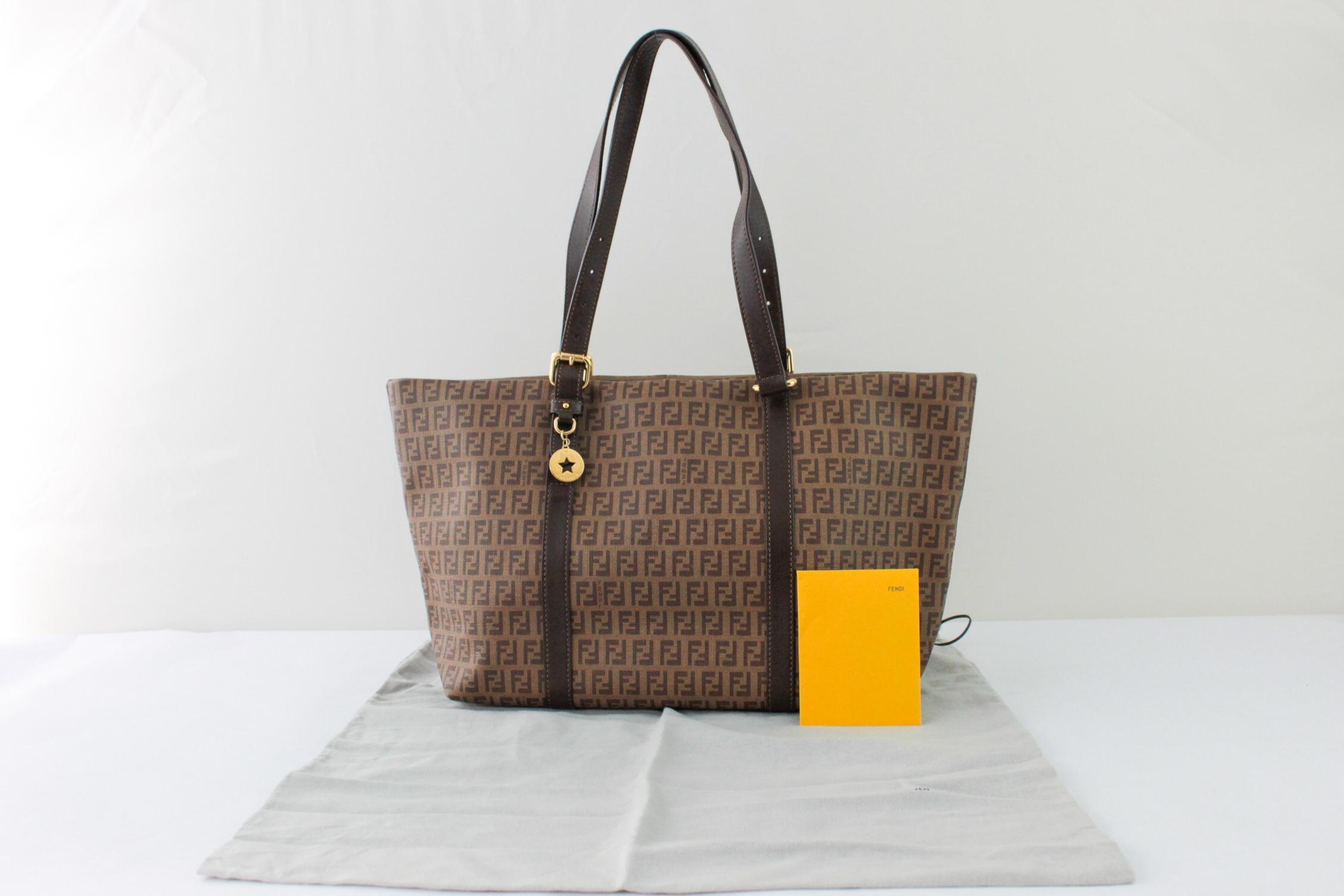 652873e9d3 ... wholesale fendi 9065 ff monogram zucca brown neverfull tote shoulder  bag tradesy 07ed3 2ac74 ...