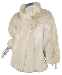 Fendi Vintage Cream Genuine Jacket