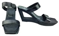 Fendi Black Wedges