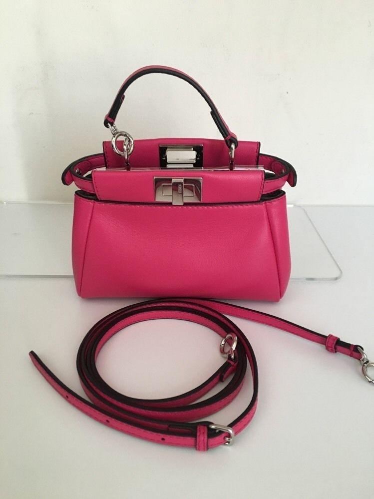 3b36797cf8 australia fendi bag pink hot c13ec c4827
