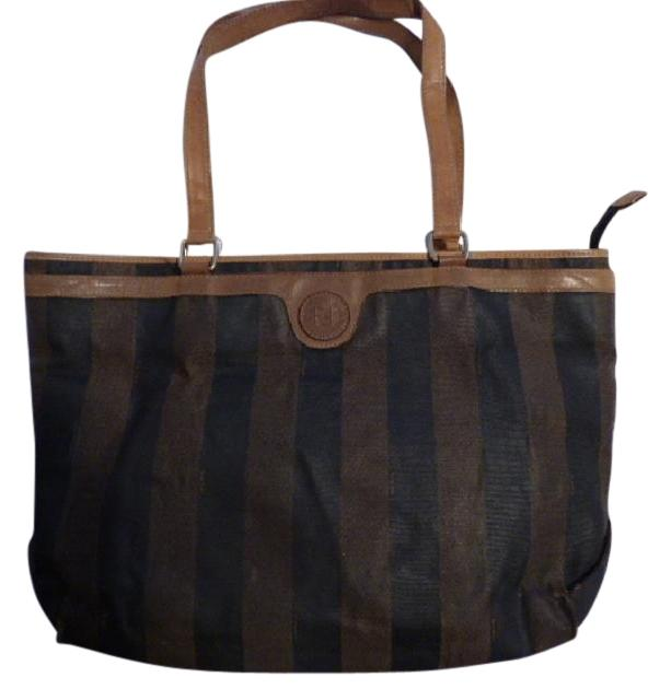 f399b6cc30 ... vintage multiple compartment xl satchel tote perfect for everyday great  to mix match reduced fendi zucca shoulder bag zucca canvas lxrandco pre  owned ...