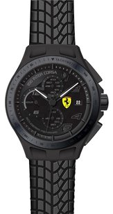 Ferrari Ferrari Men's 0830105 Race Day Analog Display Quartz Black Watch