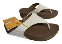 FitFlop New With Tag off-white Sandals