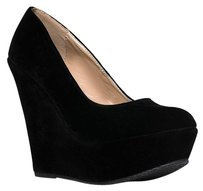 Flink Black Wedges