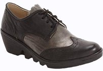 FLY London Current Palt black, pewter Flats