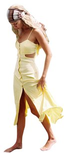 Yellow Maxi Dress by Flynn Skye Zara Forever 21 Maxi