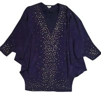 Foley + Corinna Studded Silk Dolman Dress
