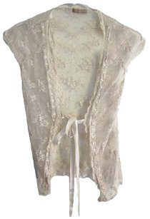 Forever 21 Lace Kimono Lightweight Lacey Country Coverup Vest