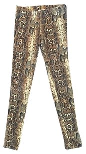 Forever 21 Python Animal Print Summer Leggings