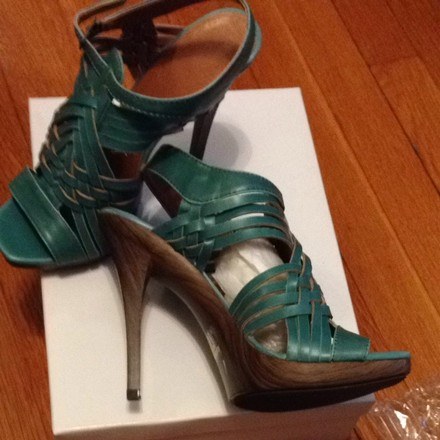 Forever 21 Turquoise Sandals