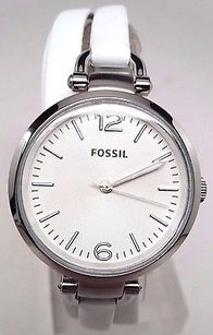 Fossil Fossil Georgia Stainless Steel Ladies Watch Es3246 Broken Hairline Scratches