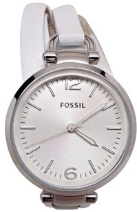 Fossil Fossil Georgia Stainless Steel Leather Ladies Watch Es3246 Crown Is Missing