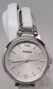 Fossil Fossil Georgia Stainless Steel Leather Ladies Watch Es3246 Defective Movement