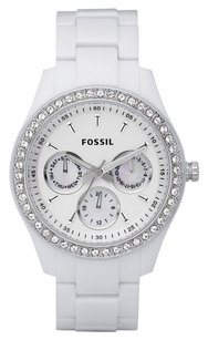 Fossil Fossil Stella Day Date Display Quartz White Dial Ladies Watch