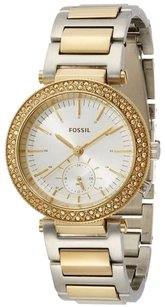 Fossil Fossil Urban Traveler Gold-tone Ladies Watch Es3850