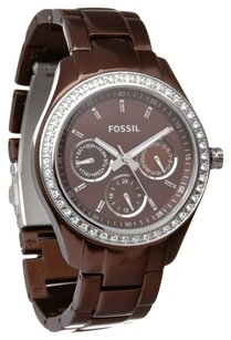 Fossil Fossil Women's 'Stella Boyfriend' Aluminum Multifunction Watch