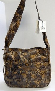 Francesco Biasia Python Shoulder Bag