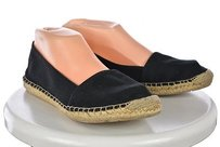 Franco Sarto Artists Collection Womens Espadrille Black Flats