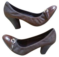 Franco Sarto Flats Wedges Platform Heel Brown Pumps