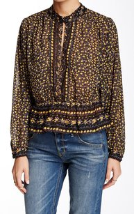 Free People 100% Polyester Top