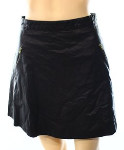 Free People 50-100 A-line Color-black Skirt