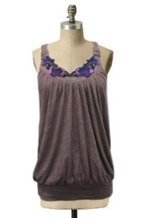 Free People Racer Back Top Mocha