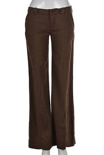 Free People People Womens Casual 0 Speckled Linen Pants