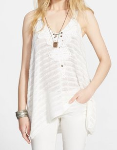 Free People Cotton Blends Knit Top