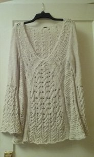 Free People Crochet Amazing Detail Tunic