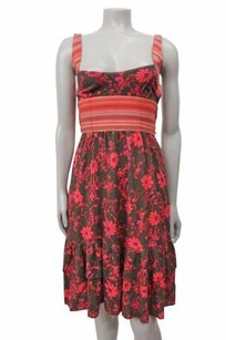 Free People short dress Multi-Color Floral Ties At Waist on Tradesy