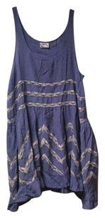 Free People short dress periwinkle on Tradesy