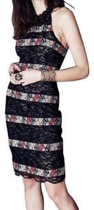 Free People Floral Lace Embroidered Dress