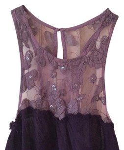 Free People Top Aubergine, purple