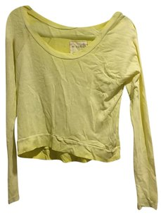 Free People T Shirt Yellow