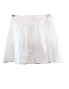 French Connection 100-cotton 73ng9 A-line Skirt White