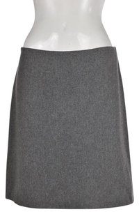 French Connection Womens Speckled Acrylic Skirt Gray