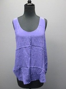 French Connection Silk Top Purple
