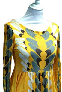 French Connection short dress Yellow Print Designer on Tradesy