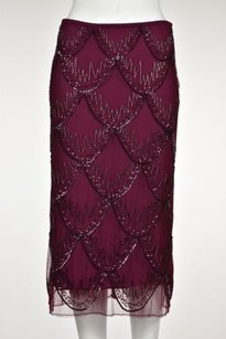 French Connection Womens Skirt Fuchsia Purple