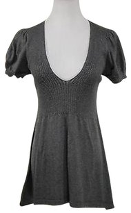 French Connection Womens Short Sleeve Cotton Sweater