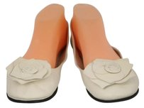 French Sole Fsny Womens Ballet Ivory Flats